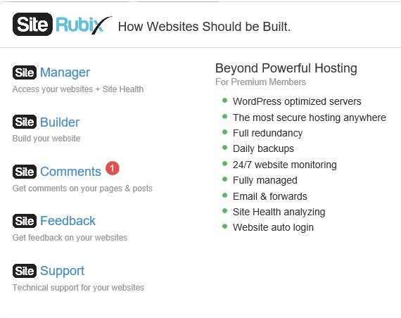 how to build wordpress website