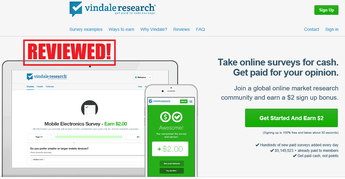 what is the vindale research