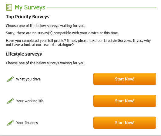 what is the mysurvey