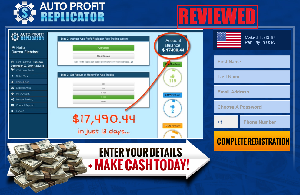 What is the Auto Profit Replicator