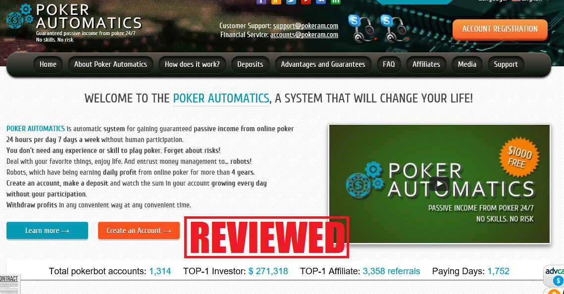 what is the poker automatics
