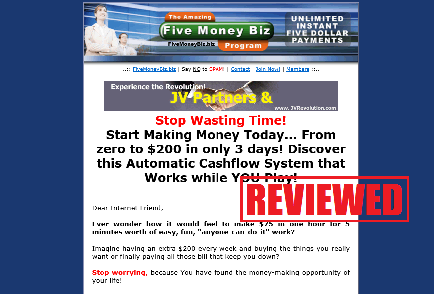 five money biz review