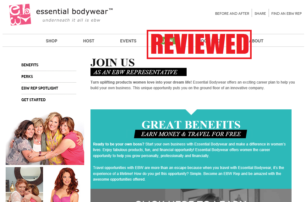 what is the essential bodywear