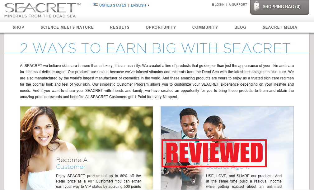 What is the Seacret Direct