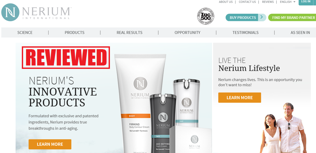 What is the Nerium International