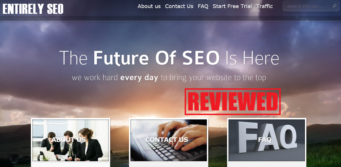 what is the entirely seo