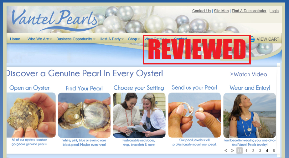 What is the Vantel Pearls