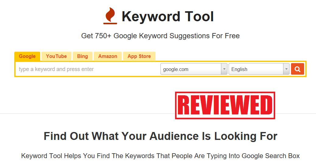 What is the Keyword Tool
