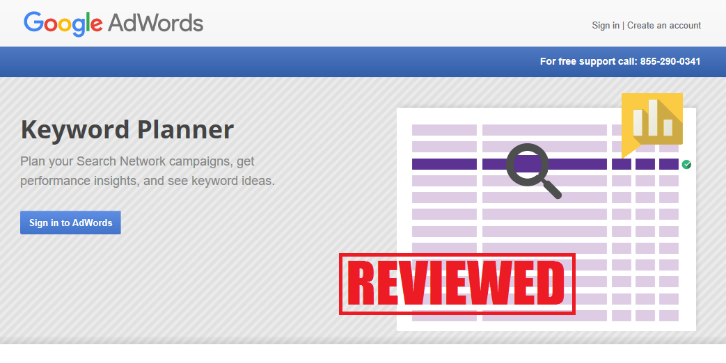 What is the Google Keyword Planner Tool