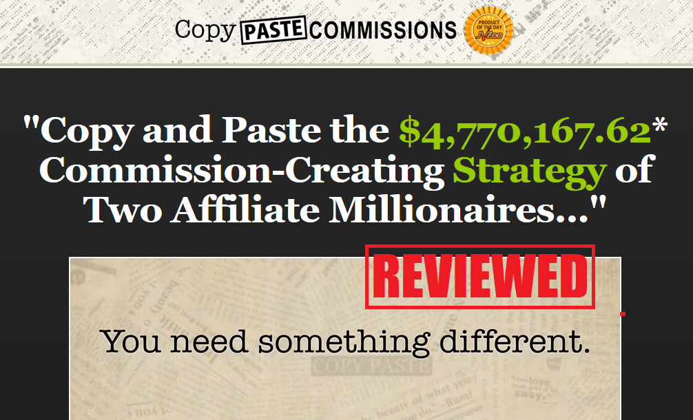 What is the Copy Paste Commissions