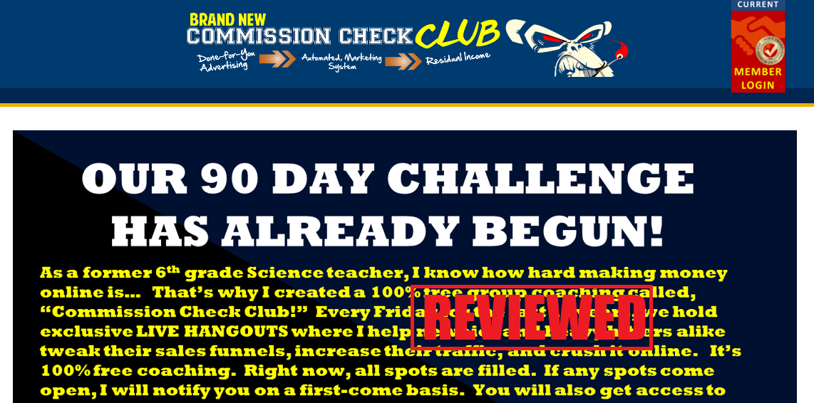 What is theCommission Check Club