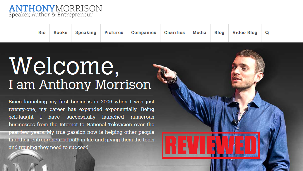 What is the Anthony Morrison Scam