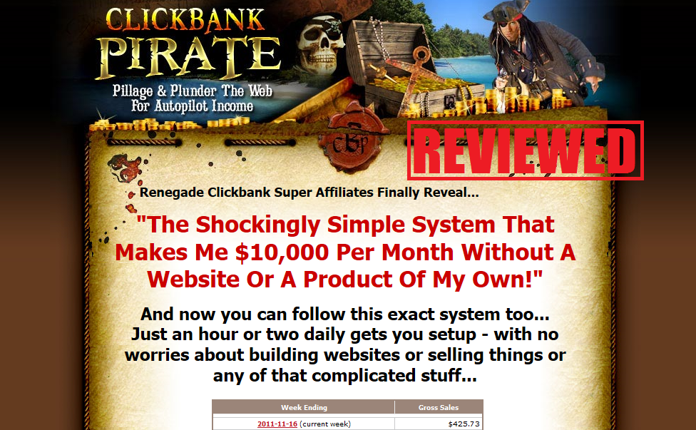 What is the Clickbank Pirate