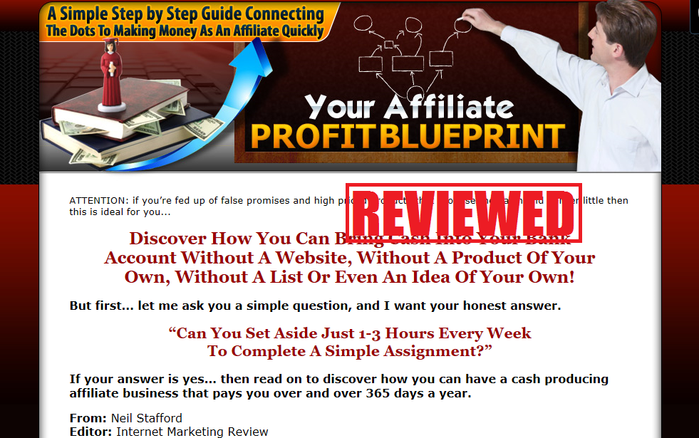 What is the Your Affiliate Profit Blueprint
