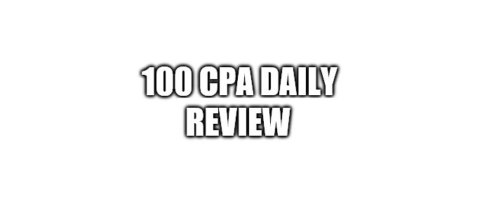 100 CPA Daily Review
