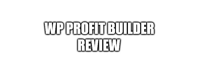 What is the WP Profit Builder