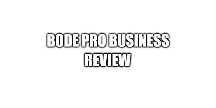 Bode Pro Review