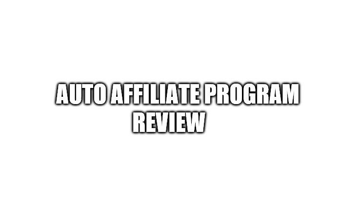 Auto Affiliate Program Review