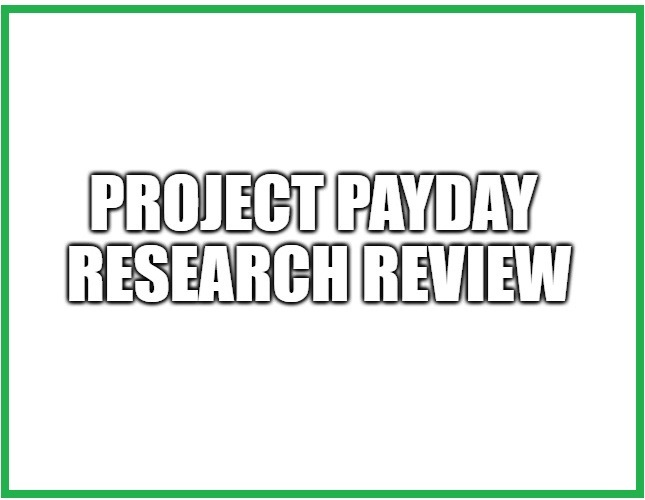 What is Project Payday Research